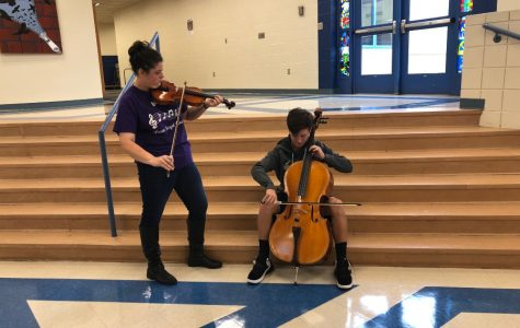 Two students headed to District orchestra