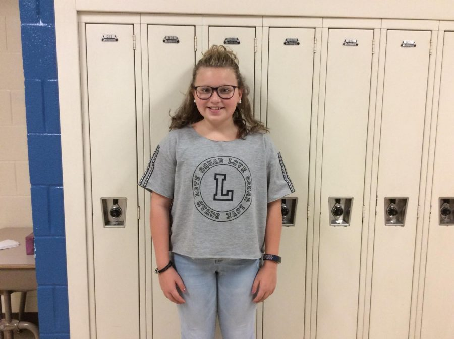 Leigha enjoys playing basketball and hanging out with friends.