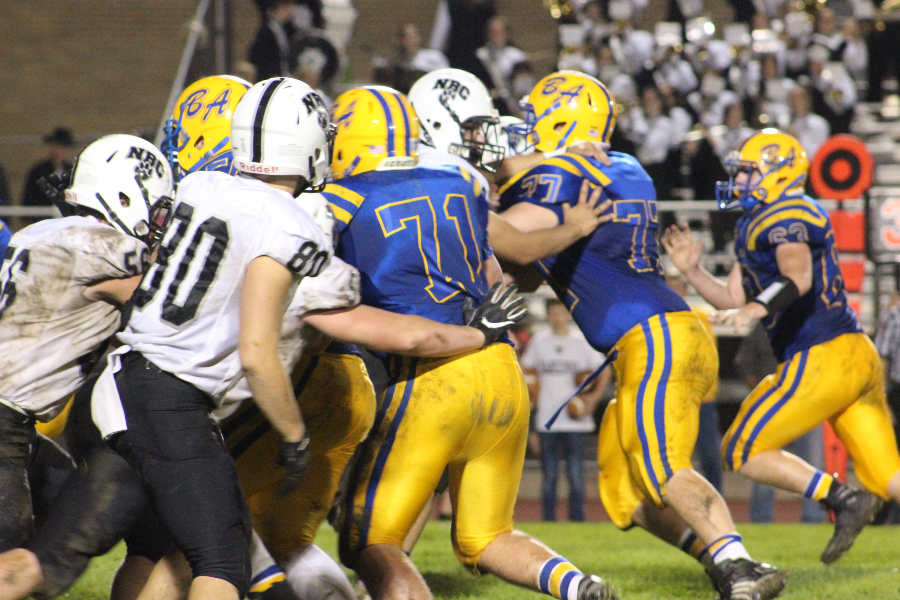 B-A won a tough battle against Northern Bedford on Friday,