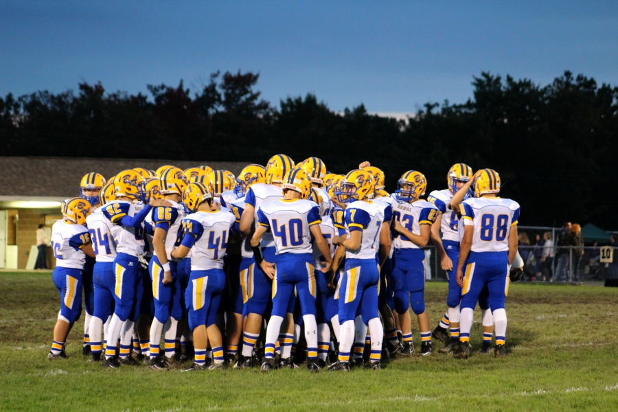 Everyone got involved in B-A's victory over West Branch.