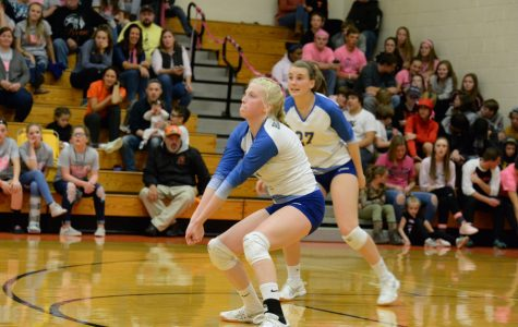 Volleyball team falls at Tyrone