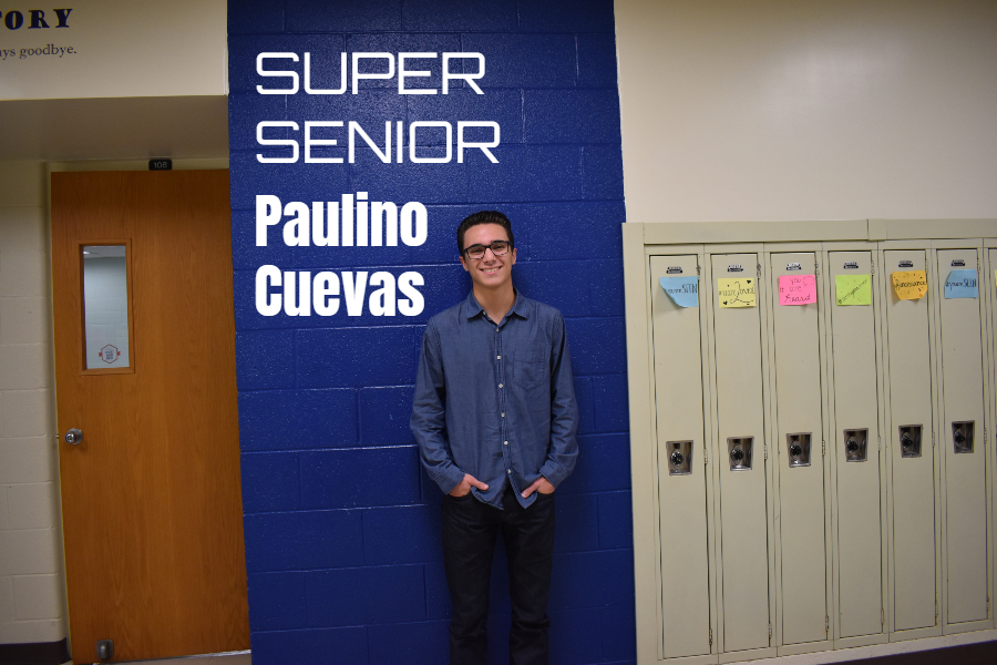 Paulino Cuevas is a Super Senior.