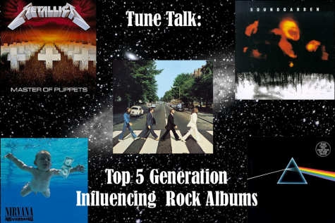 Tune Talk: Top 5 Generation Influencing Rock Albums