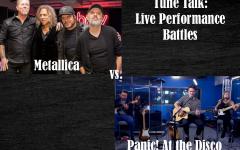 Tune Talk Live Performance Battles: Panic! At the Disco vs. Metallica