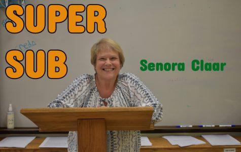SUPER SUB: Senora Claar