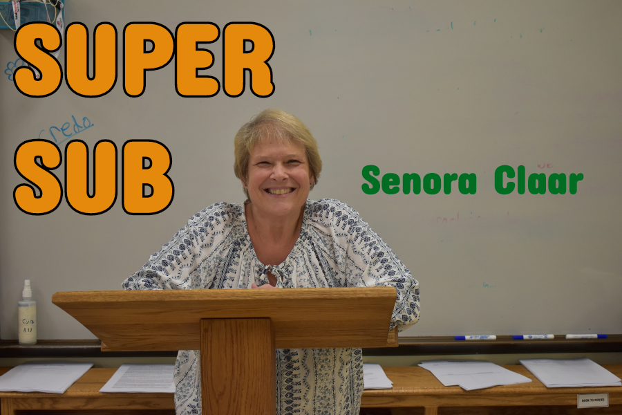 Senora Claar was alegendary teacher at B-A who continues to come back and work as a super sub.