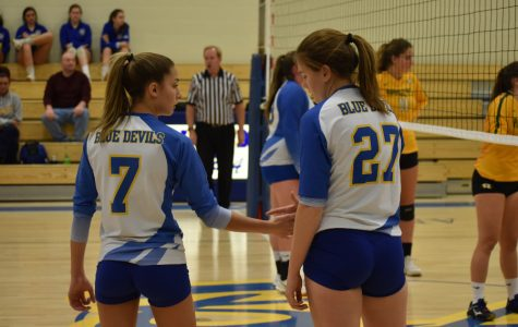 Volleyball team ousted in first round