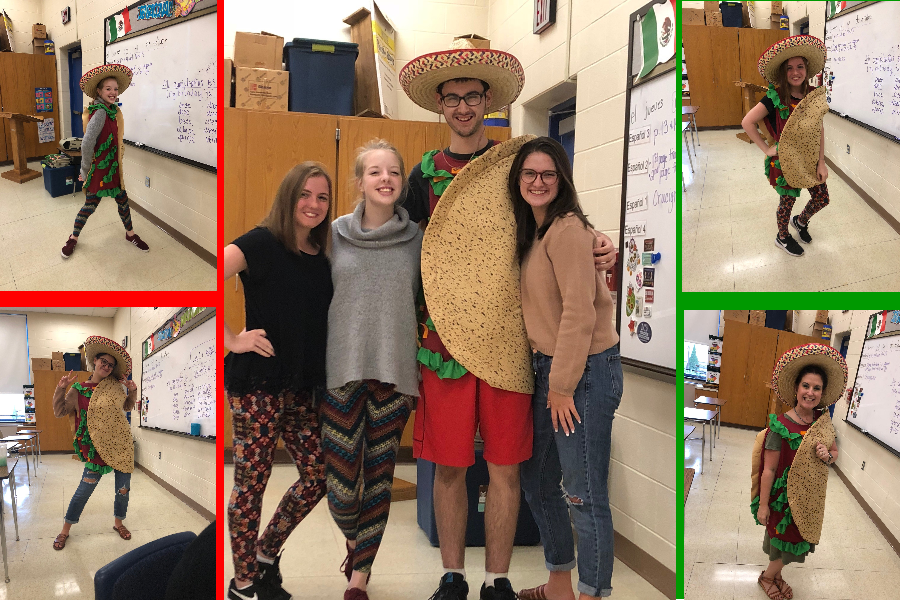 Spanish Club is more than dressing like a taco, although that opportunity is always on the table.