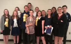 B-A freshman takes first at speech meet