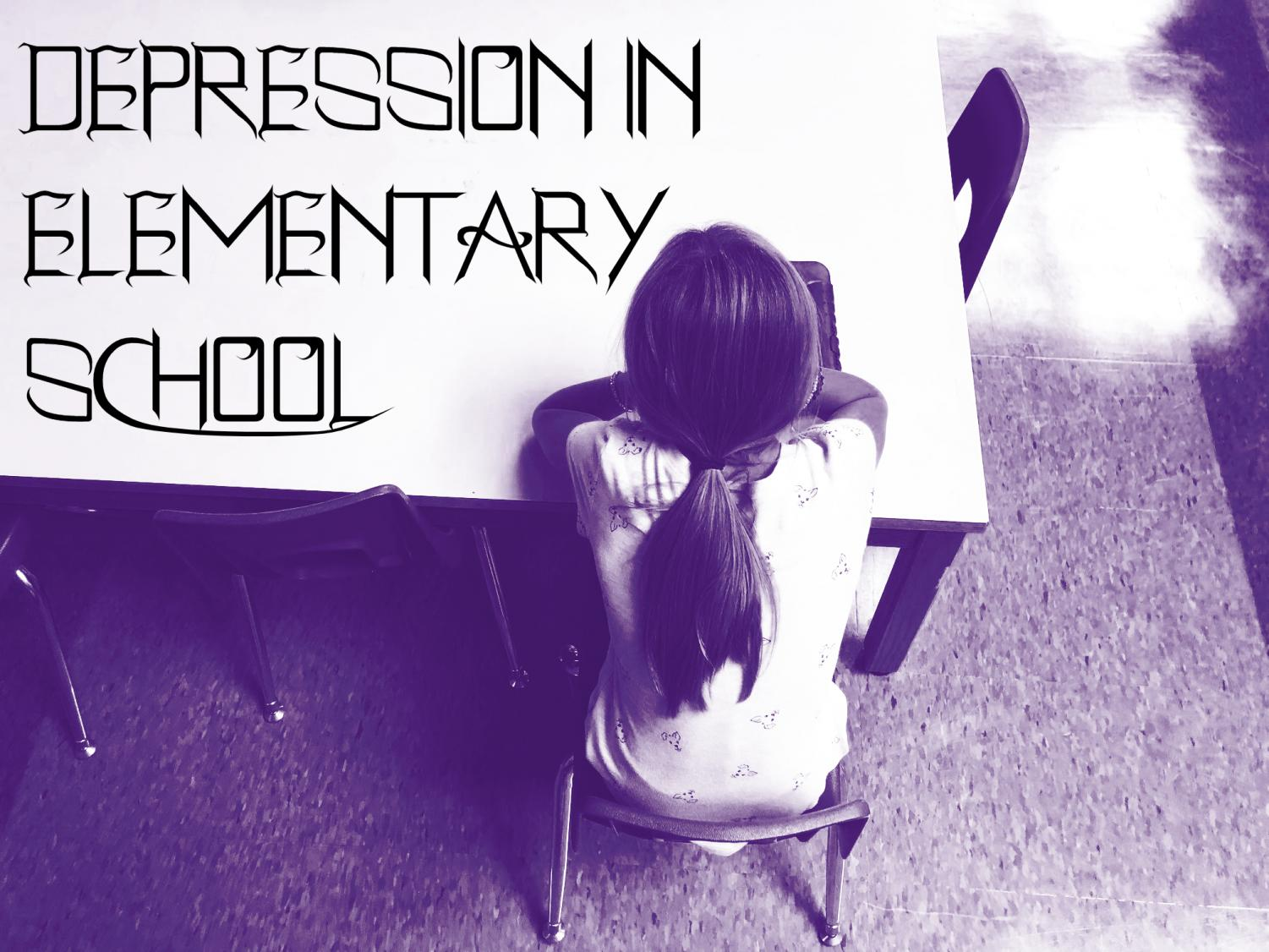 More and more elementary aged students are showing signs of depression.