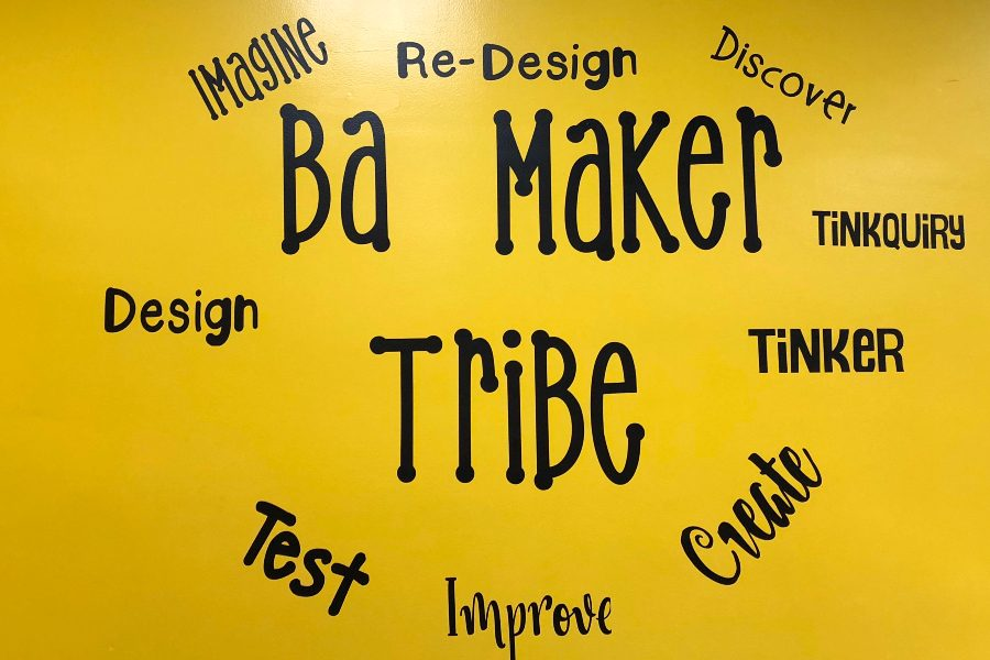 The B-A Maker Tribe is at it again, running a fully functioning business out of the middle school.