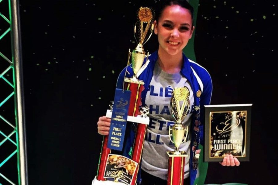 Anna Lovrich is a Bellwood dancer who is on scholarship at Grier School.