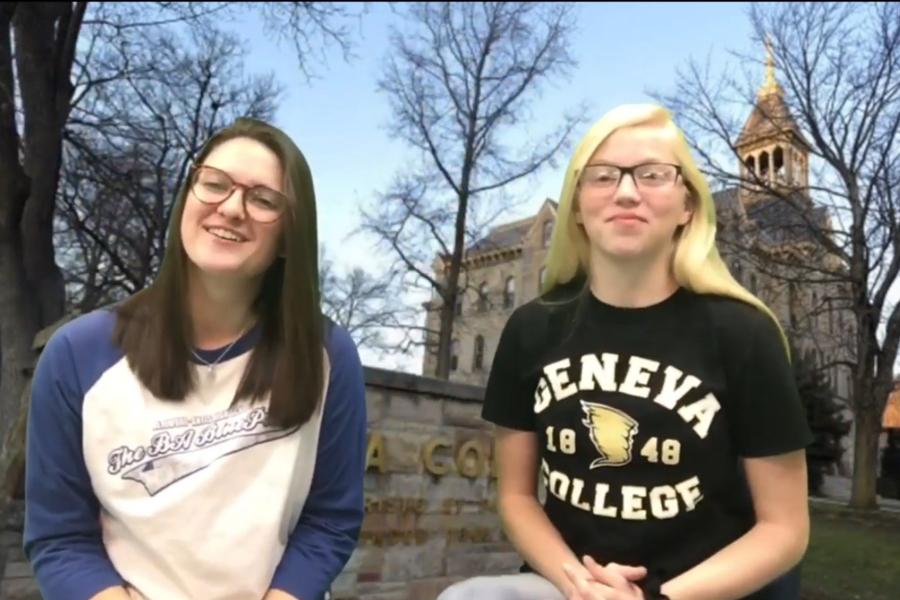 BluePrint Editor in Chief Kaelynn Behrens is headed to Geneva College next year.