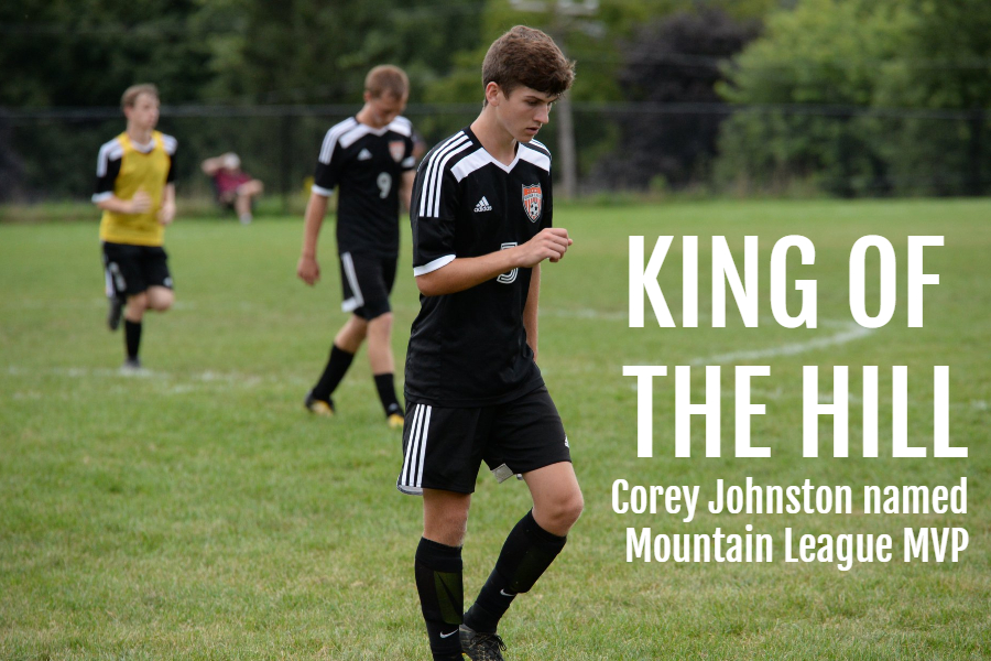 Corey Johnston claimed B-A's third Mountain League soccer MVP award in the last six seasons this week.