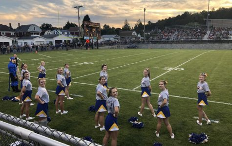 B-A cheerleaders perform for their sport 3 and 4 nights each week.