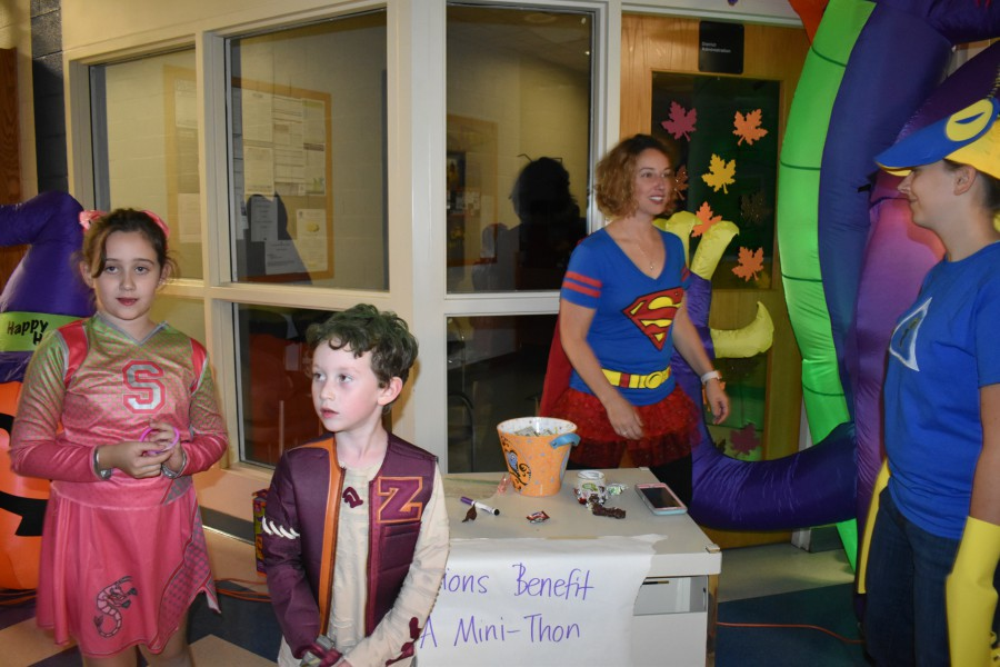 The Renaissance sponsored its first Safe Trick or Treat Night on Tuesday.
