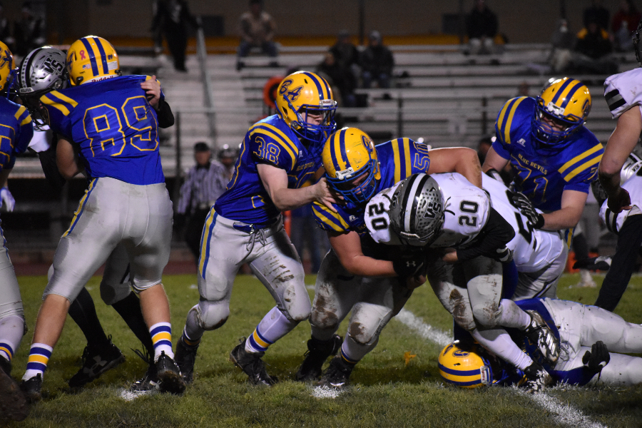Bellwood's defense - and the team as a whole - got a huge stop Saturday against West Shamokin.