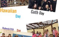 Eighth Graders Enjoy Theme Days