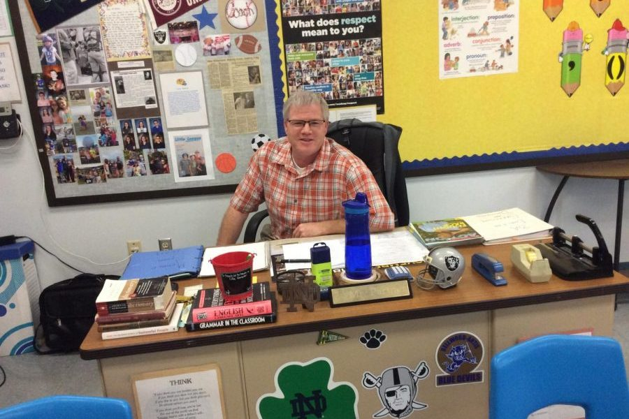 Mr. Partner was inspired to become a teacher by retired B-A educators.