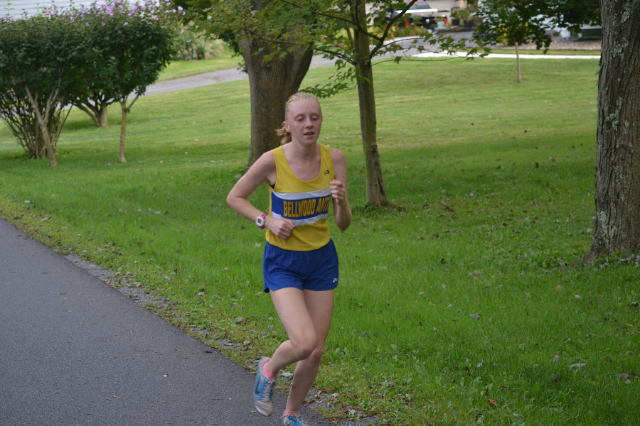 Jenna Bartlett had a blast at the PIAA cross country championships in Hershey.