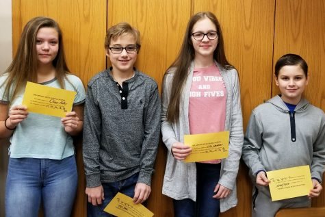 MS Students of the Week announced