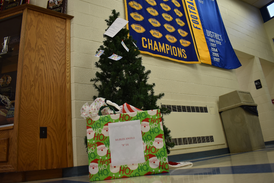 There's still time to take a tag from one of the Blue Angels' Christmas trees and spread some holiday cheer.