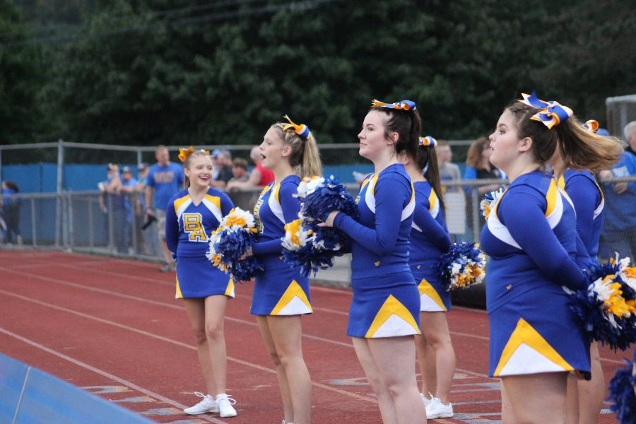 B-A cheerleaders will compete this year for the first time in more than a decade.