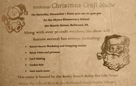 The annual Christmas craft fair is coming to Myers Elementary Saturday.