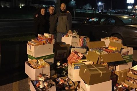 Last year BAEA was successful enough in its annual food drive to collect three SUVs full of food.