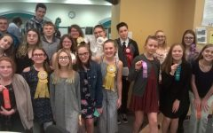 Junior high speech team closes season