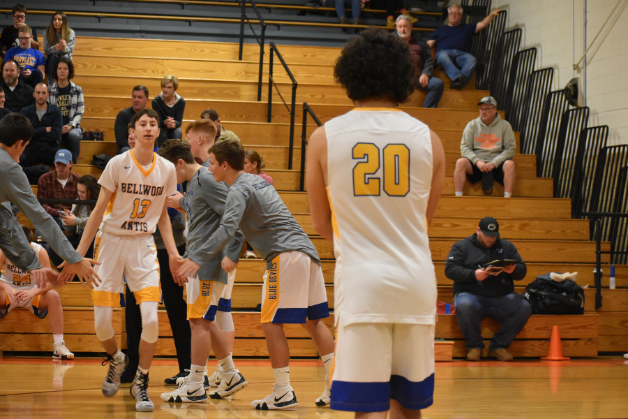Mason Yingling scored 28 points to lead B-A to an upset victory over Hollidaysburg.