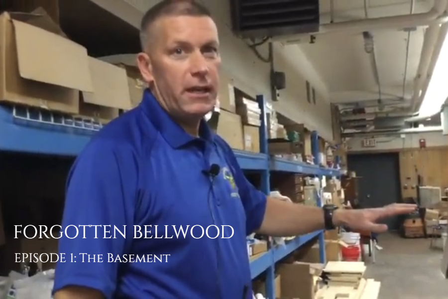 Tim Mercer takes us on a tour of the basement in the first edition of Forgotten Bellwood.