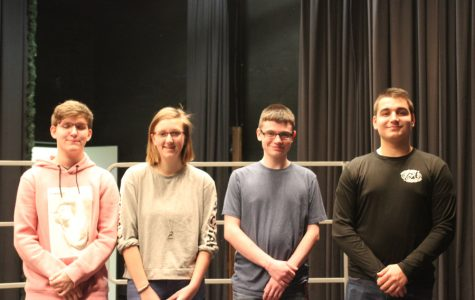 Four musicians make District band