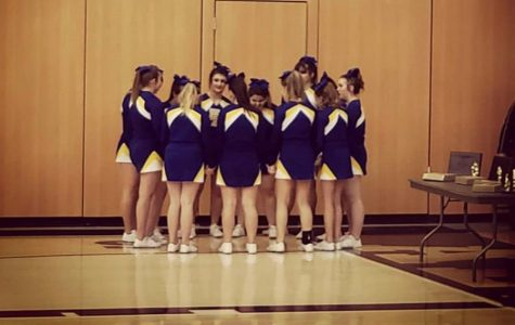 Cheerleaders take on competition