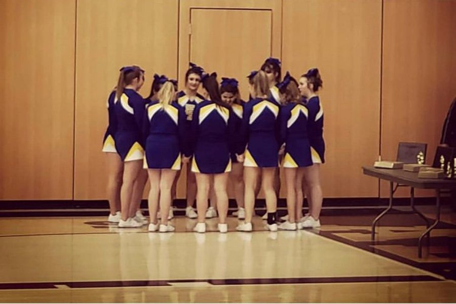 The+B-A+cheer+squad+took+fourth+at+Districts+last+Saturday.