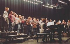 The senior high chorus will have a performance broadcast on television over the Christmas season.