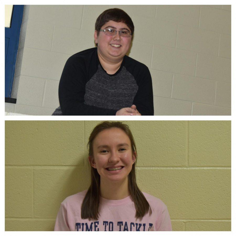 Alex Dunlap and Jordan Rachel both won scholarships at the CTC.
