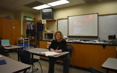 Ms. Flarend is the only teacher at B-A with a doctorate.