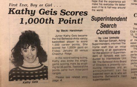 BA HISTORY 101: Kathy Geis scores 1,000