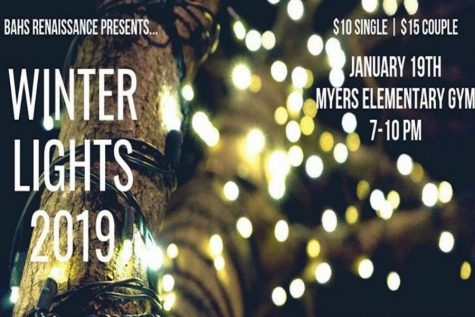 Winter Lights Dance Rescheduled