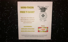 Community can order mini-THON t-shirts