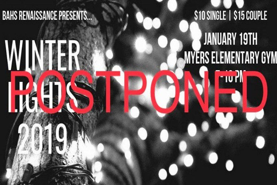 The+Winter+Lights+dance+has+been+postponed.