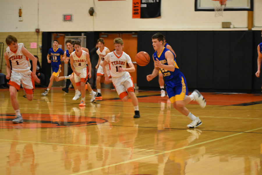 Zach Mallon scored 14 points in B-A's win over Penns Valley.