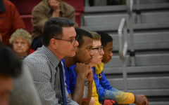 Coach Tim Andrekovich looks on during his team's loss to Everett.