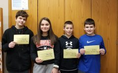 Middle school names Students of the Week