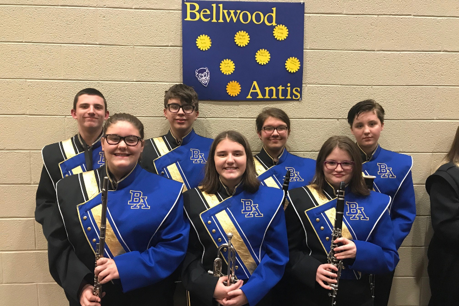 Seven B-A middle and high school students took part in County Band.