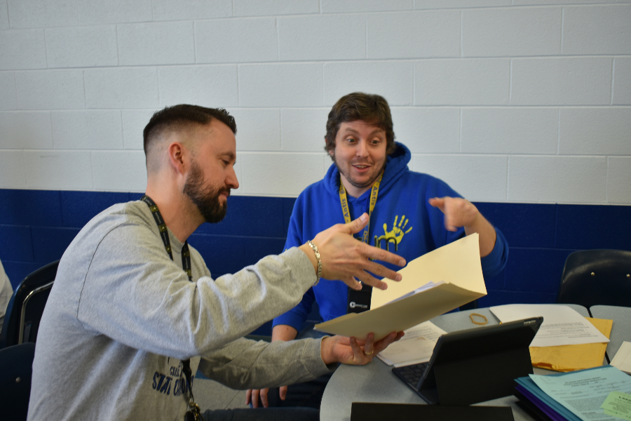 mini-THON advisers Mr. McNaul and Mr. Stewart made the decision to postpone some fundraisers due to weather-related issues.