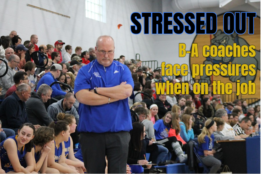 B-A girls basketball coach Jim Swaney said he enjoys some of the elements of the game that may cause other coaches stress.