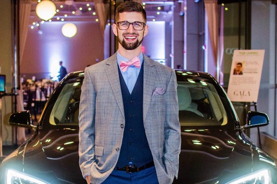 Tyler Campbell left Pennsylvania to work on the West Coast for Tesla.