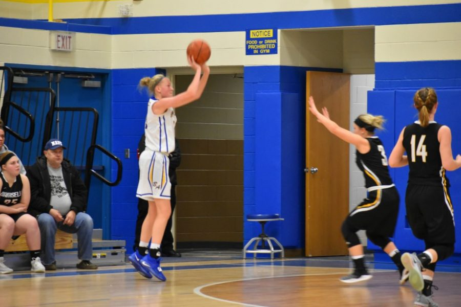 B-A junior Alli Campbell is closing in on 2,000 points.